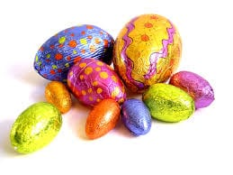 Who put the chocolate into Easter Eggs?
