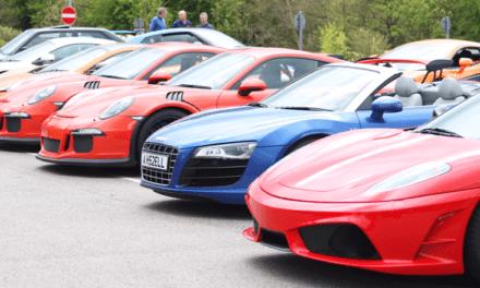 Supercars Raise £50k for Bluebell Wood