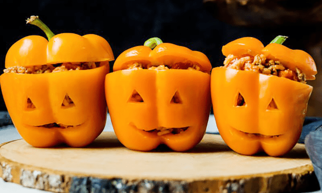 Stuffed Pepper Lanterns